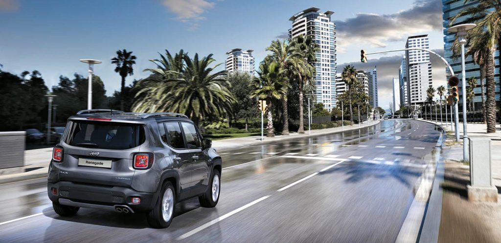 Jeep Renegade City Driving